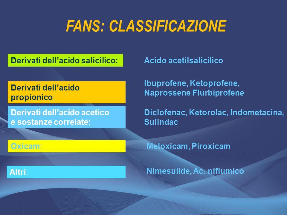 FANS: CLASSIFICAZIONE