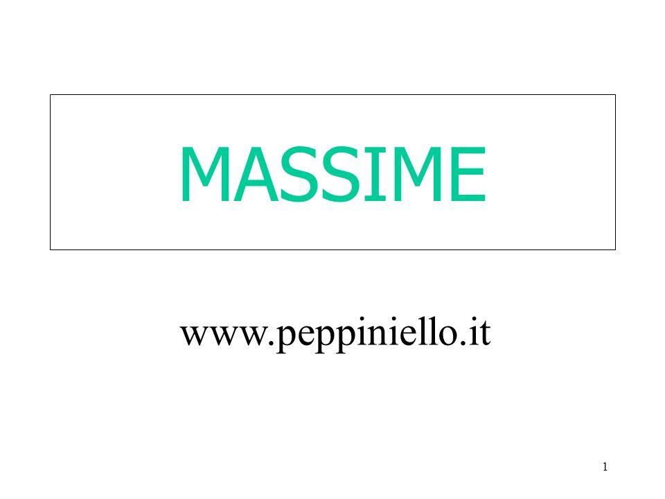 MASSIME www.peppiniello.it