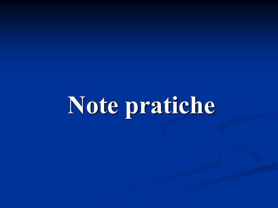 Note pratiche