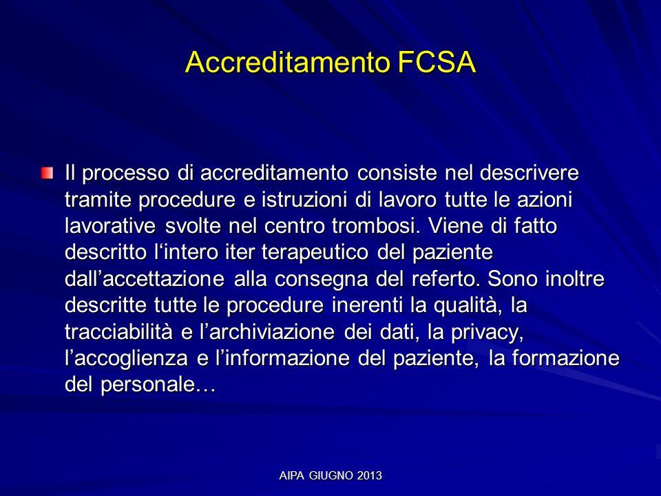 Accreditamento FCSA