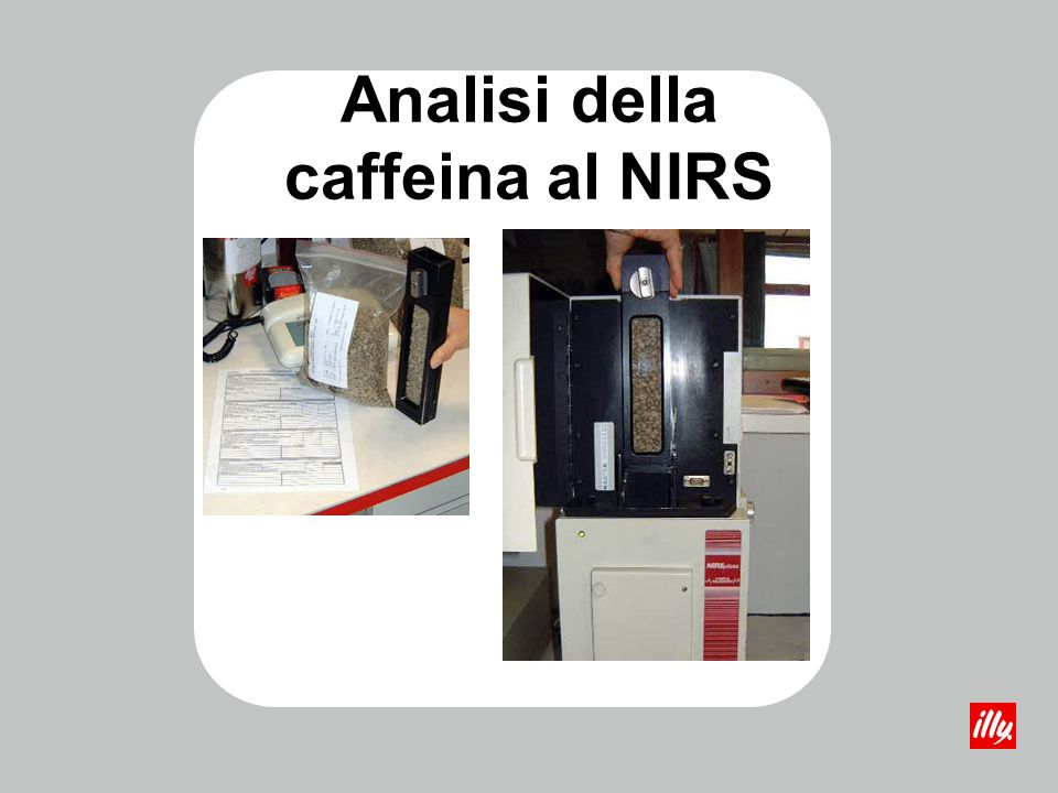 Analisi della caffeina al NIRS