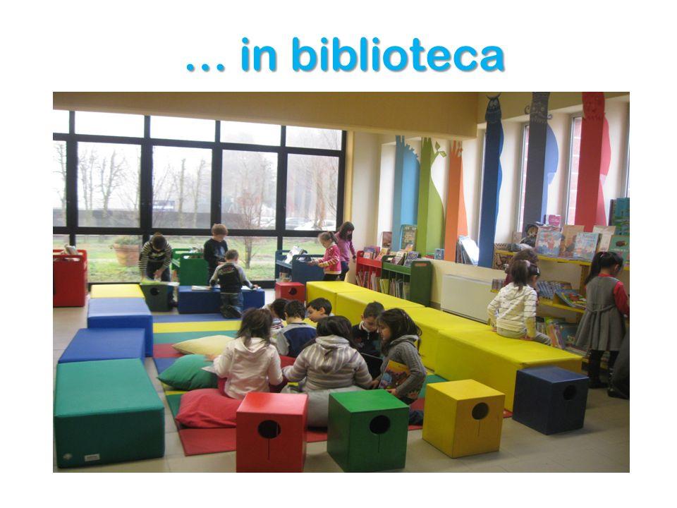 … in biblioteca