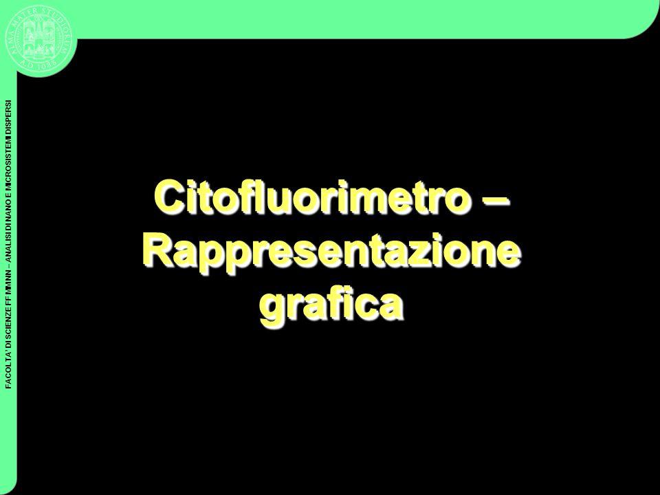 Citofluorimetro – Rappresentazione grafica