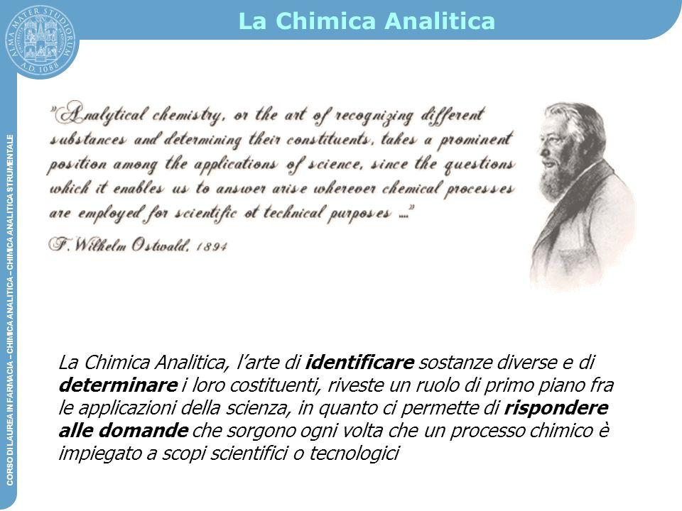 La Chimica Analitica