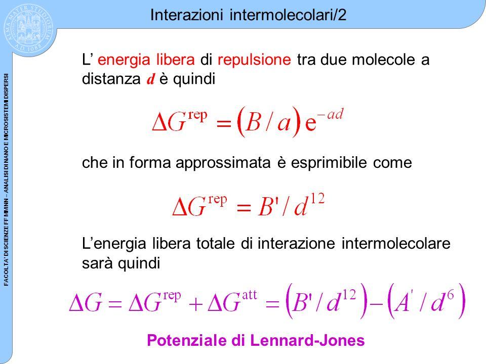 Interazioni intermolecolari/2