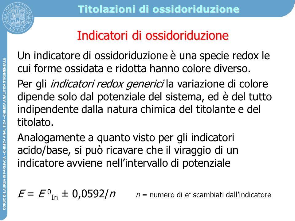 Titolazioni di ossidoriduzione