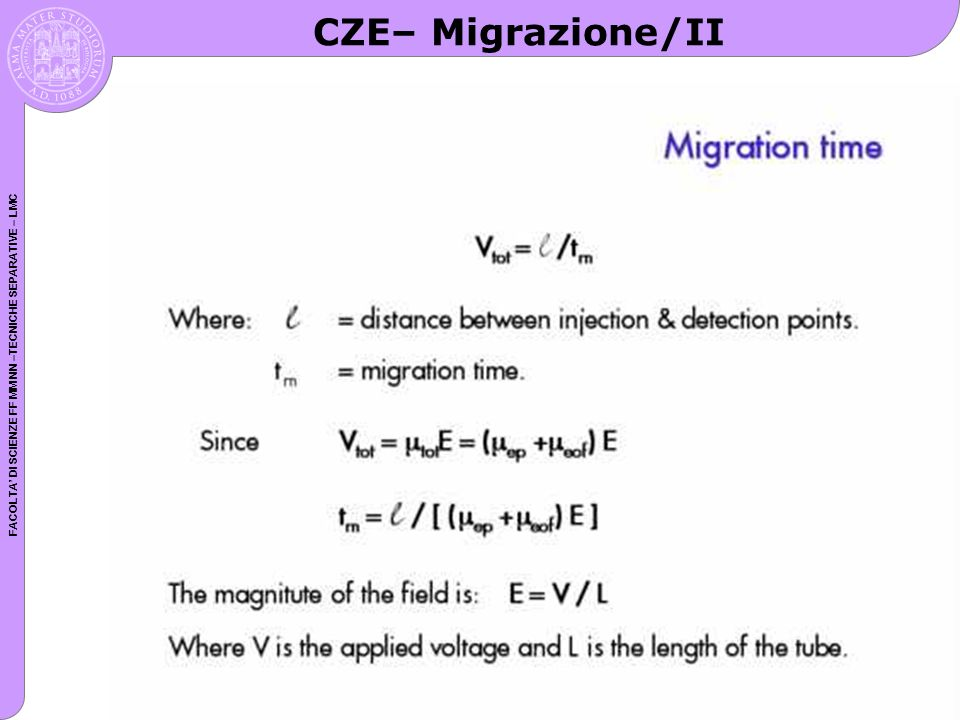 CZE– Migrazione/II