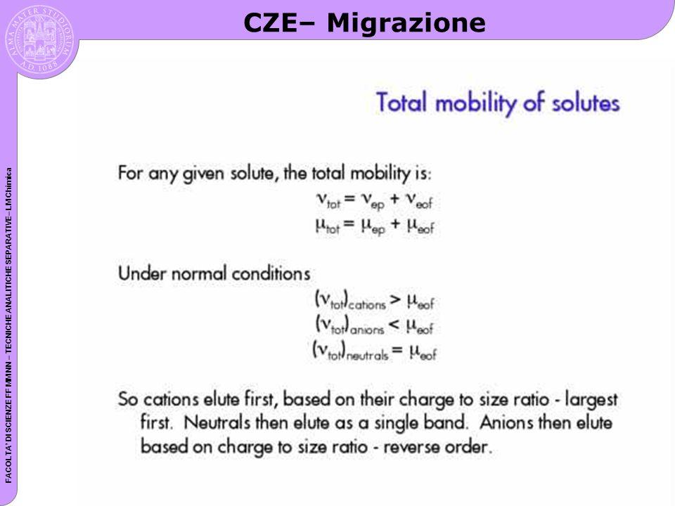 CZE– Migrazione