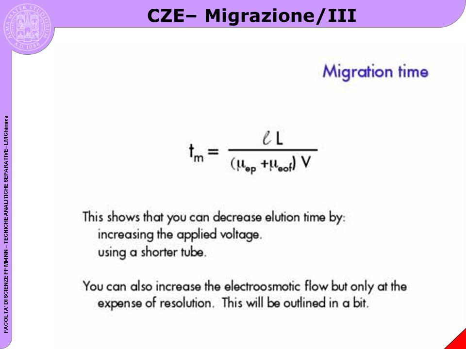 CZE– Migrazione/III