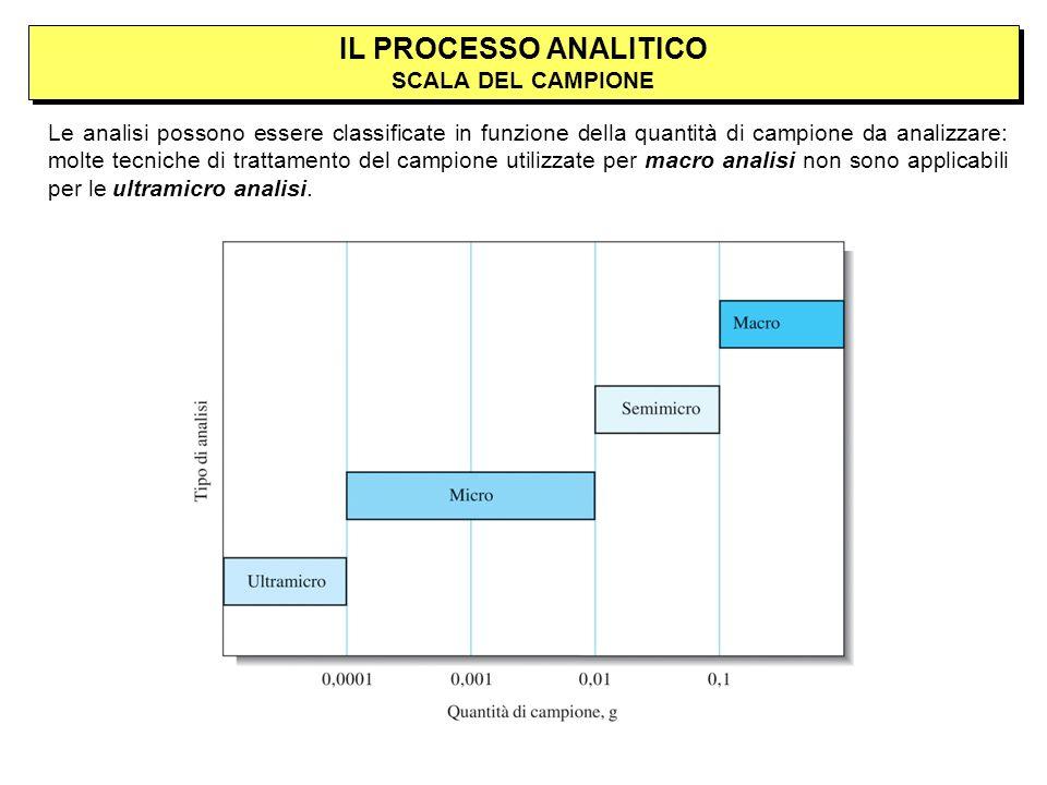 IL PROCESSO ANALITICO SCALA DEL CAMPIONE