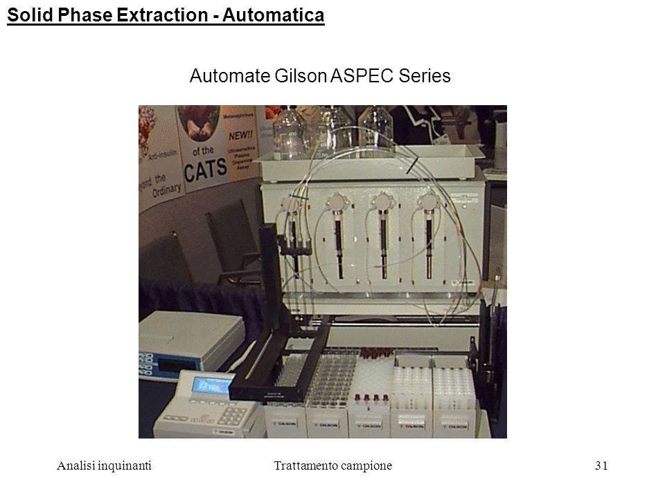 Solid Phase Extraction - Automatica
