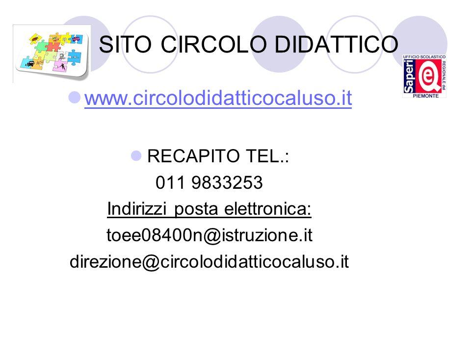 SITO CIRCOLO DIDATTICO