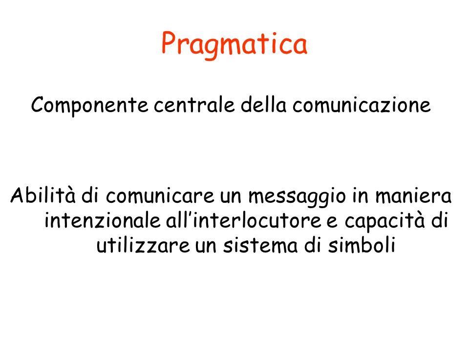 Componente centrale della comunicazione