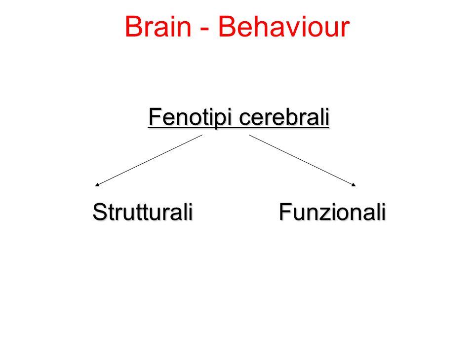 Strutturali Funzionali