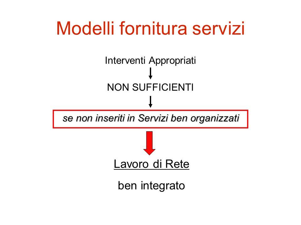 Modelli fornitura servizi