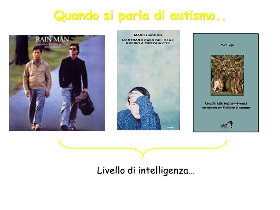 Quando si parla di autismo..