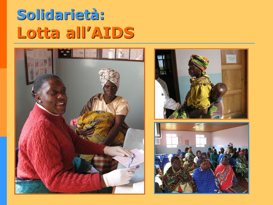 Solidarietà: Lotta all'AIDS