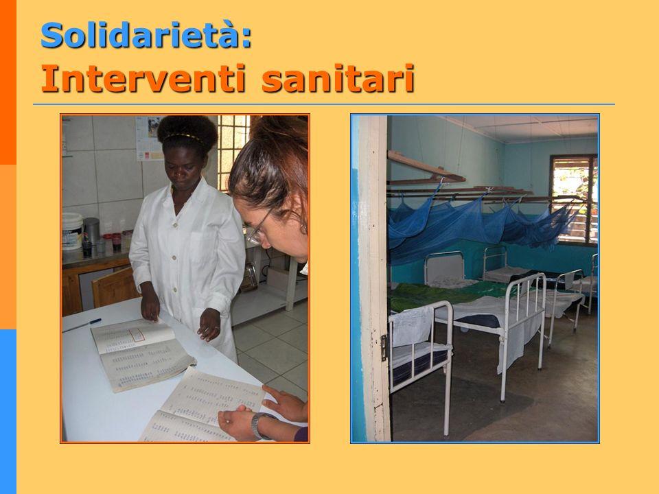 Solidarietà: Interventi sanitari