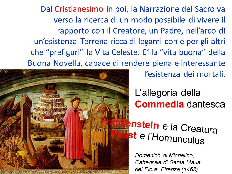 Frankenstein e la Creatura Faust e l'Homunculus