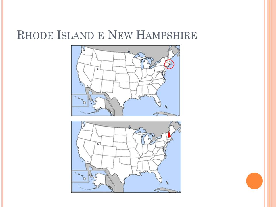 Rhode Island e New Hampshire