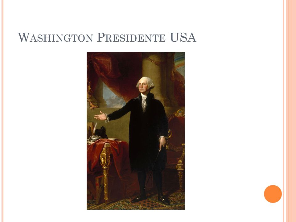 Washington Presidente USA