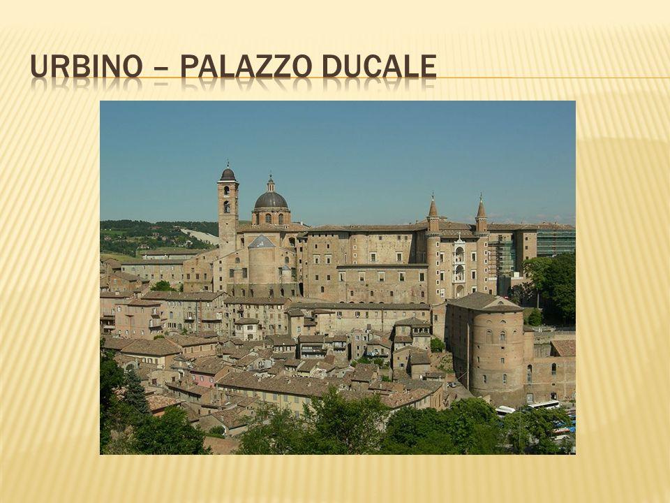 Urbino – palazzo ducale