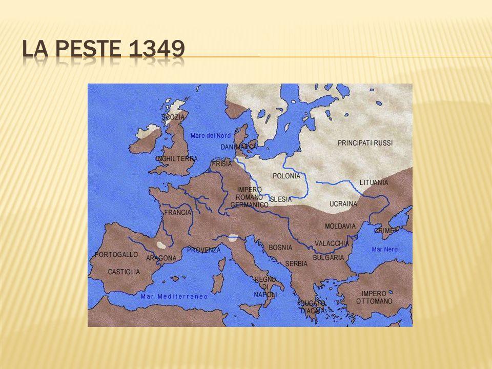 LA PESTE 1349