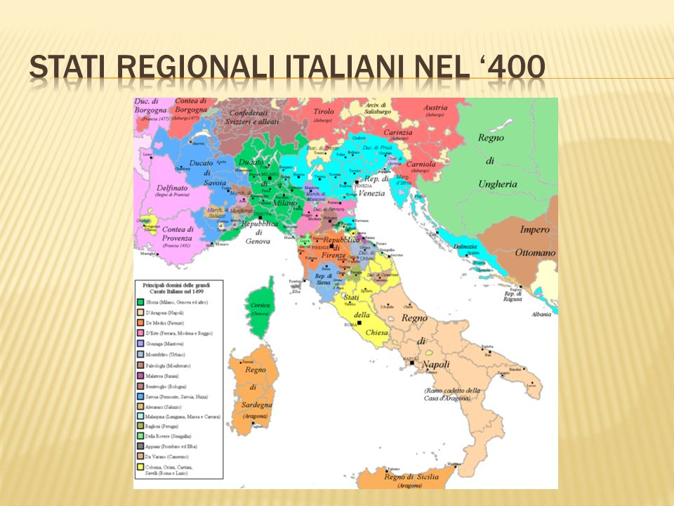 Stati regionali italiani nel '400