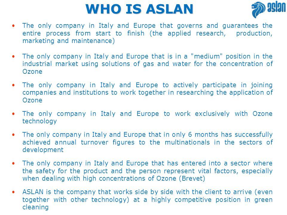 WHO IS ASLAN