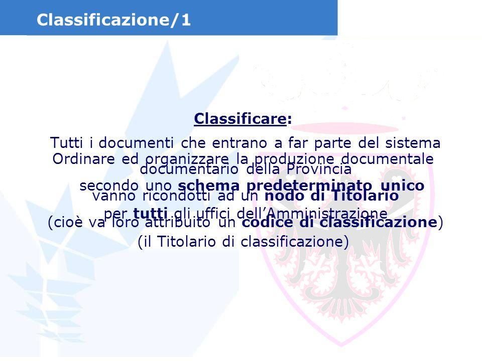 Classificazione/1