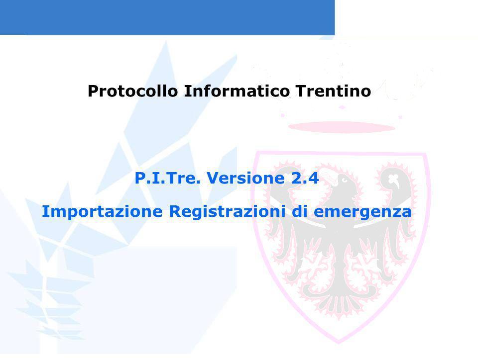 Protocollo Informatico Trentino