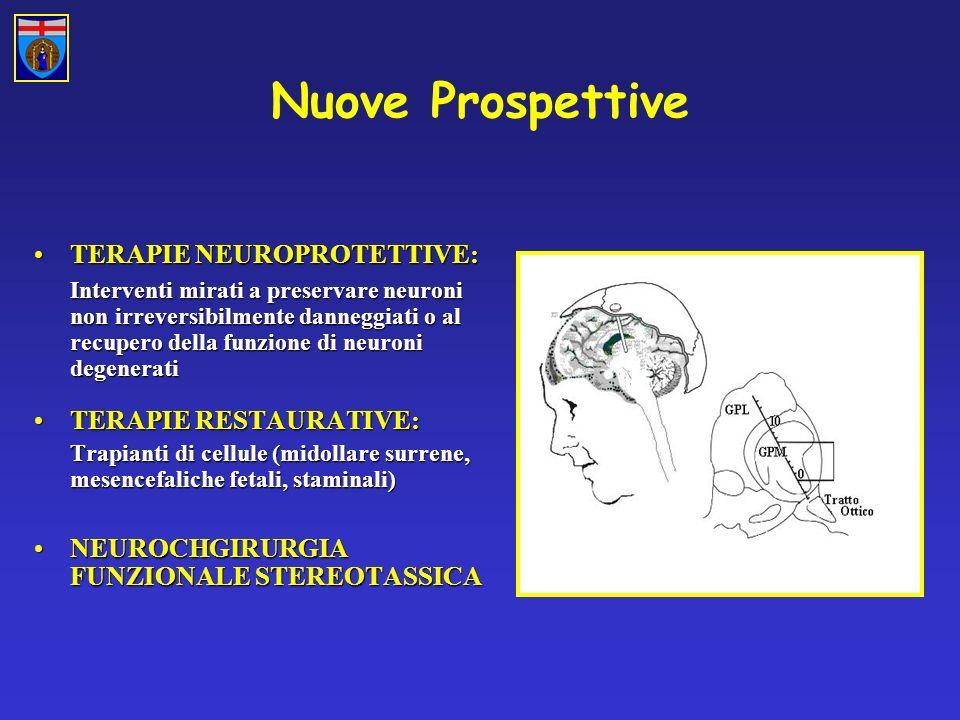 Nuove Prospettive TERAPIE NEUROPROTETTIVE: