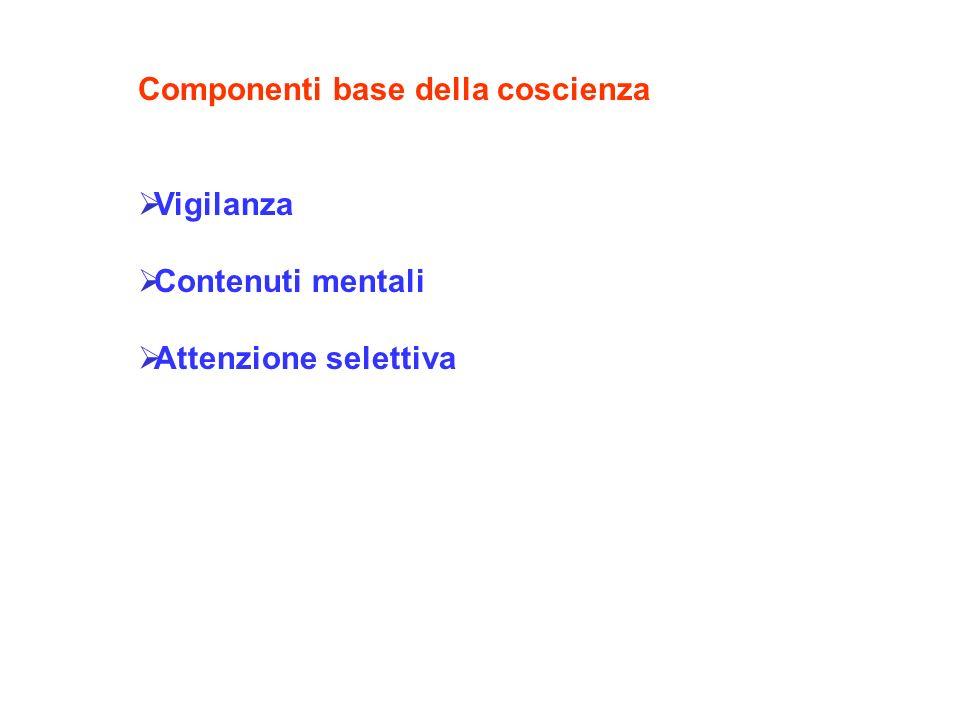 Componenti base della coscienza
