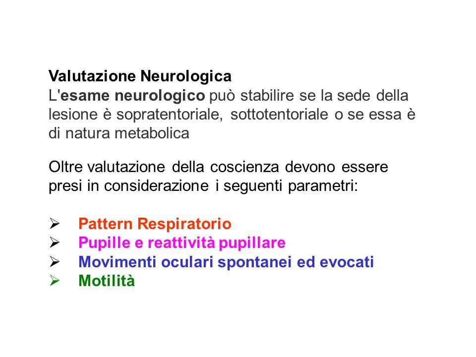 Valutazione Neurologica