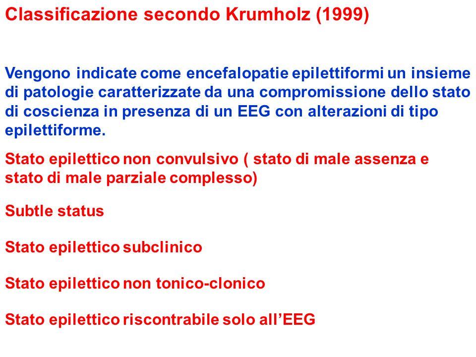 Classificazione secondo Krumholz (1999)