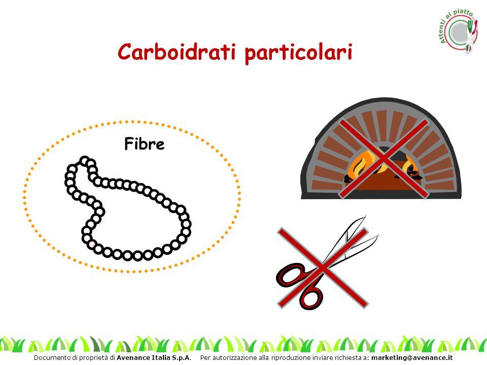 Carboidrati particolari