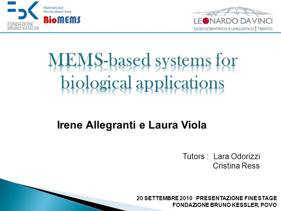 MEMS-based systems for biological applications