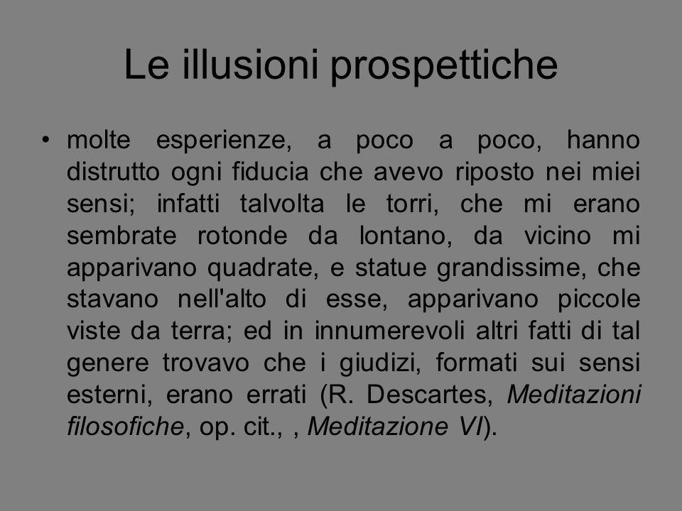 Le illusioni prospettiche