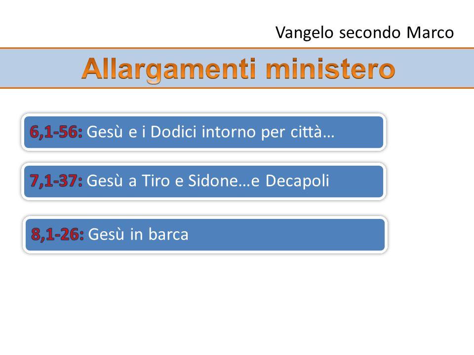Allargamenti ministero