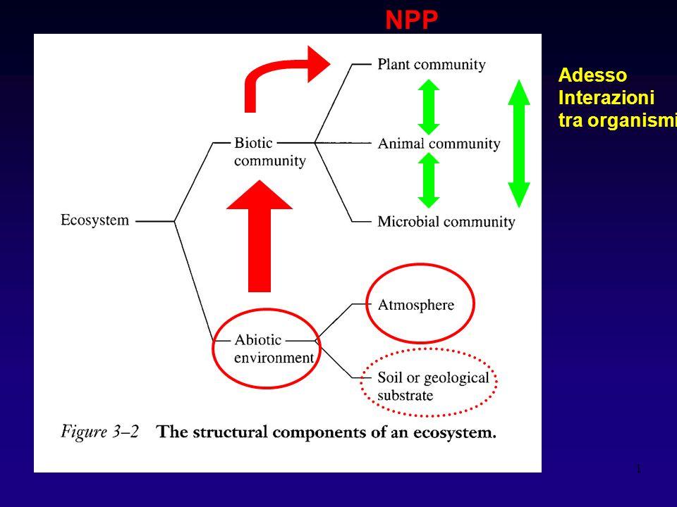 NPP Adesso Interazioni tra organismi