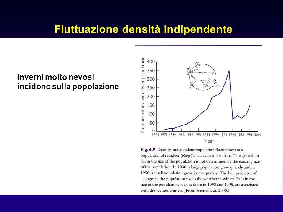 Fluttuazione densità indipendente