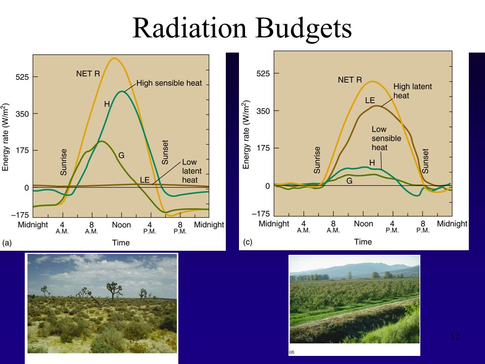 Radiation Budgets