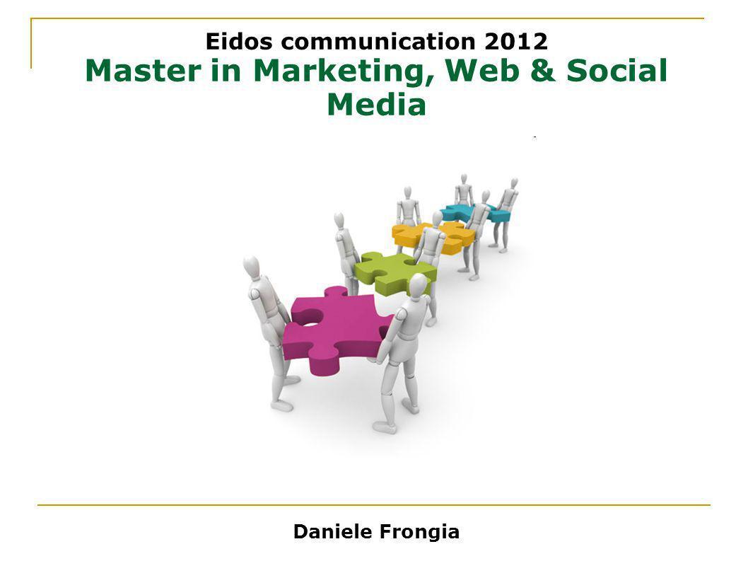 Master in Marketing, Web & Social Media