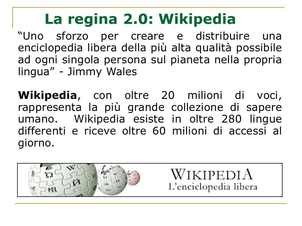 La regina 2.0: Wikipedia