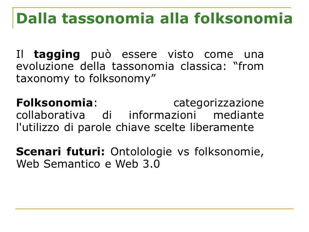 Dalla tassonomia alla folksonomia