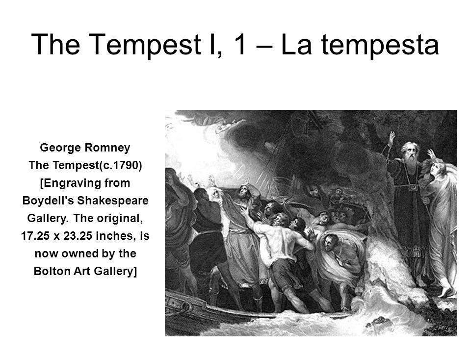 The Tempest I, 1 – La tempesta