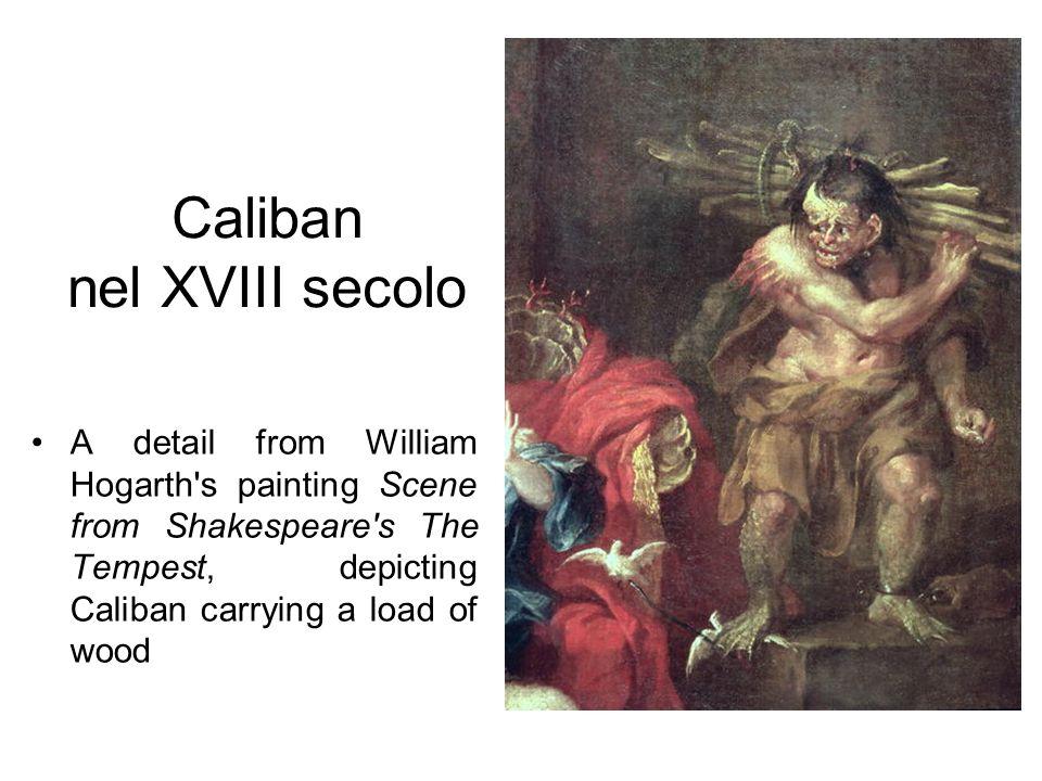 Caliban nel XVIII secolo