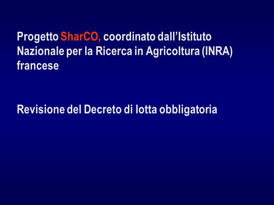 Progetto SharCO, coordinato dall'Istituto Nazionale per la Ricerca in Agricoltura (INRA) francese