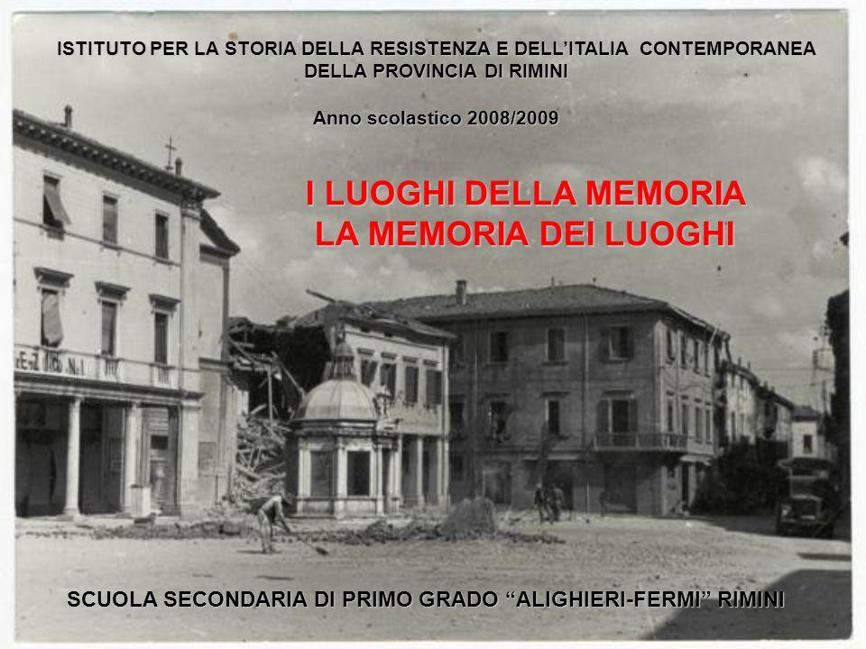 I Luoghi Della Memoria La Memoria Dei Luoghi Ppt Video Online