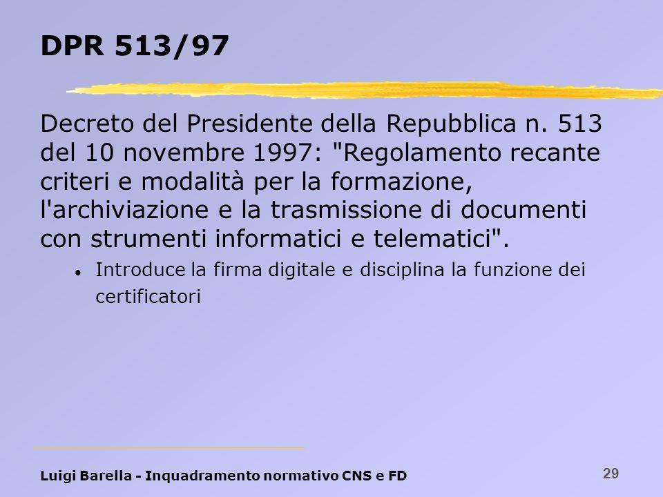 DPR 513/97
